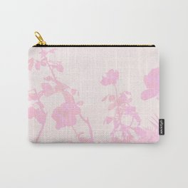 Pastel Pink Roses on the Beach Carry-All Pouch