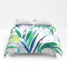 summer motel pattern Comforters