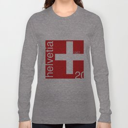 Switzerland stamp  Long Sleeve T-shirt