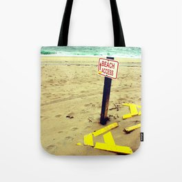 Beach Access Tote Bag