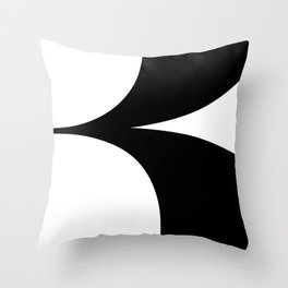 More than Shape \ Capital Letter B  Throw Pillow
