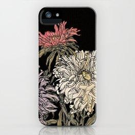 In praise of beauty (dark version) iPhone Case