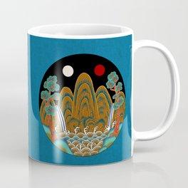 Minhwa: Sun, Moon and 5 Peaks: King's painting B_2 Type Coffee Mug