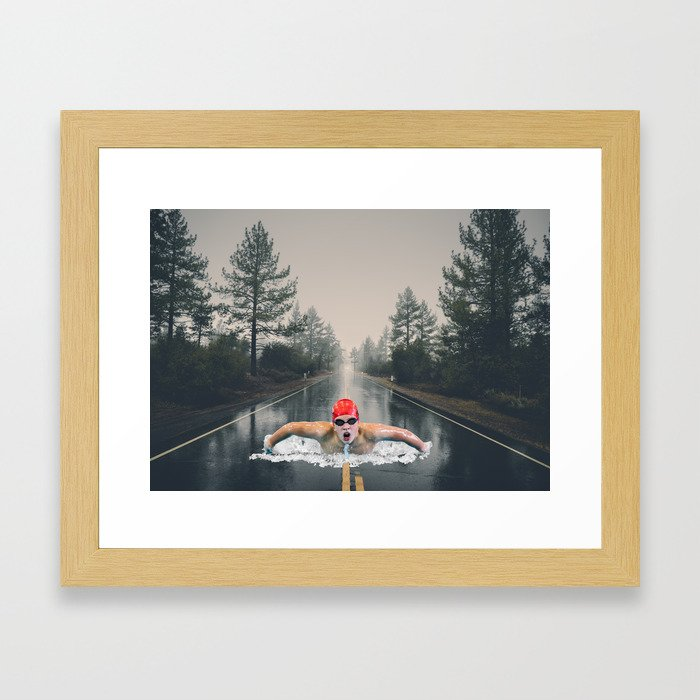The Great Ocean Road Framed Art Print