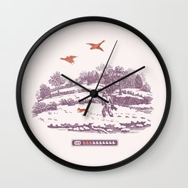 A Vintage Memory Wall Clock