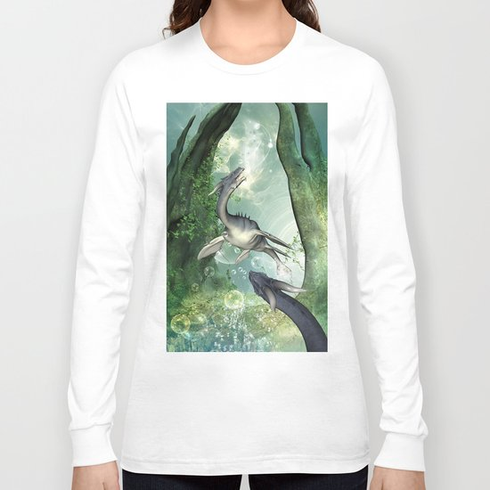 Awesome seadragon Long Sleeve T-shirt