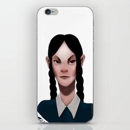 Wednesday Addams iPhone Skin
