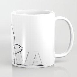The Ungava Collection: The Polar Bear Family Coffee Mug