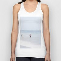 swimming Tank Tops featuring Swimming by Pure Nature Photos