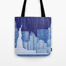 New York, Statue of Liberty Tote Bag