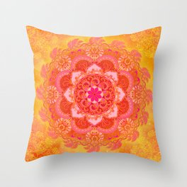 Sun Bliss Throw Pillow