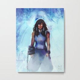 Avatar Korra Metal Print