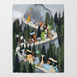 little adventure mountain Poster