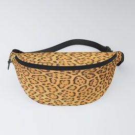 Brown Beige Leopard Animal Print Fanny Pack