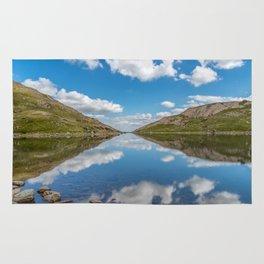 Blue Lake of Snowdonia Rug