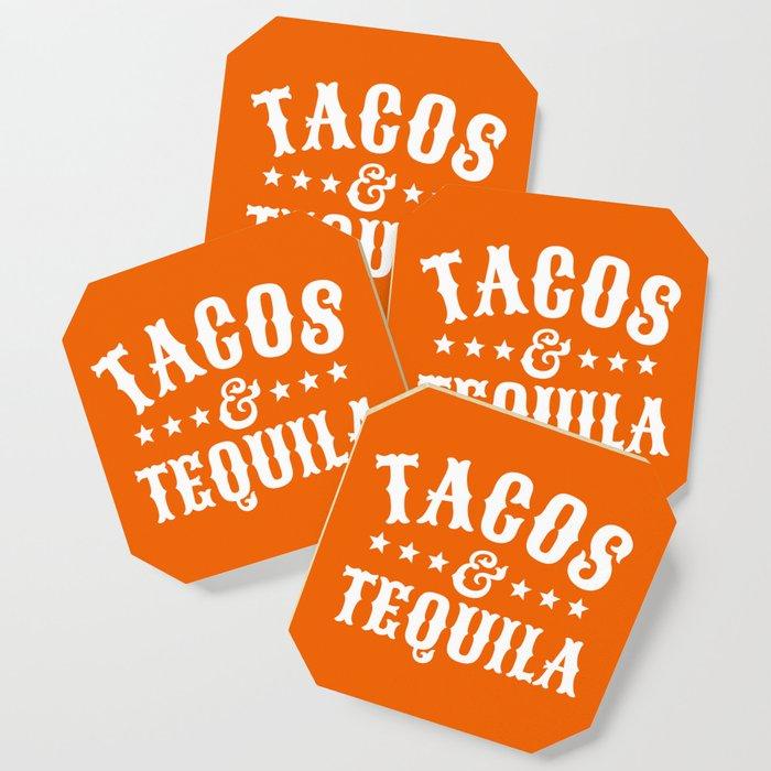 Tacos & Tequila (Orange) Coaster