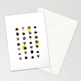 stoneheads 002 Stationery Cards