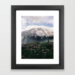 Mt Rainier Framed Art Print