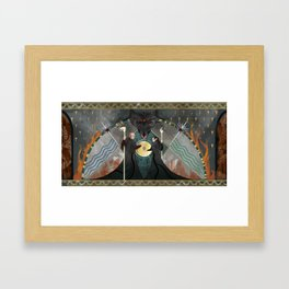Din'anshiral Mural Framed Art Print