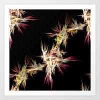 sparkles Art Prints featuring Sparkles by Sartoris ART