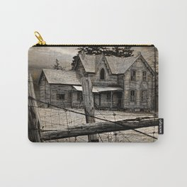 Abandoned Farm House in Ontario Carry-All Pouch