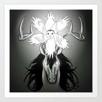 guardians Art Prints featuring Guardians by Tessa Storm