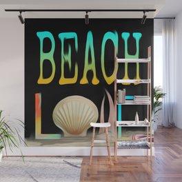 Beach Love Wall Mural