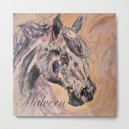 Malvern Horse Metal Print