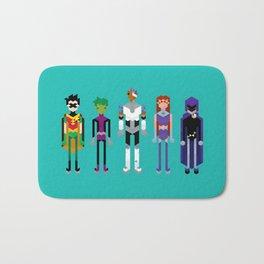 Teenage Superheroes Bath Mat