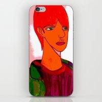sam smith iPhone & iPod Skins featuring Sam by Latidra Washington