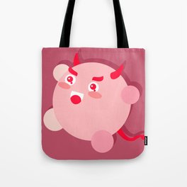 The cutest evil demon ever! Tote Bag