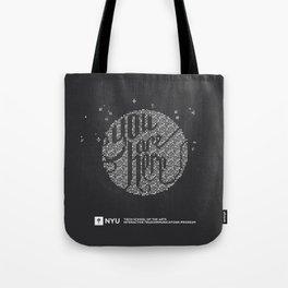 YOU ARE HERE  [Funfetti] Tote Bag