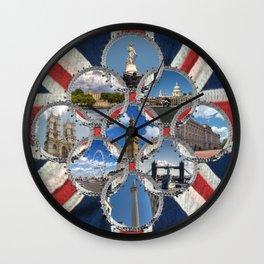 Diamond City Wall Clock