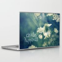 happiness Laptop & iPad Skins featuring Happiness by Sandra Arduini