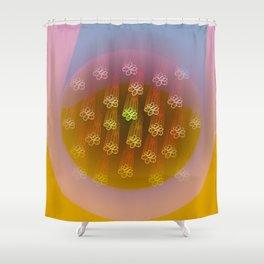 Floral Rain Shower Curtain