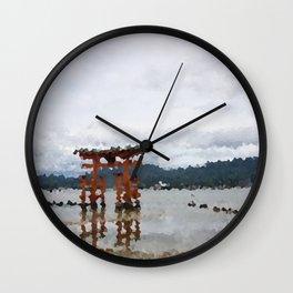 Miyajima Wall Clock