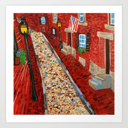 Beacon Hill Art Print