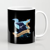 ravenclaw Mugs featuring Ravenclaw by Markusian