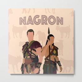 Nagron Goat Farm (Spartacus) Metal Print