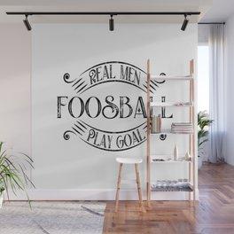 Foosball Goalie Wall Mural