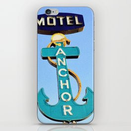 Anchor Motel iPhone Skin