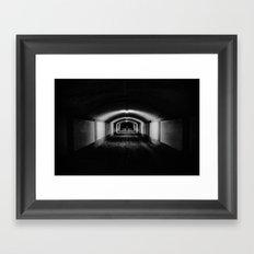 Vevey, sous-gare Framed Art Print