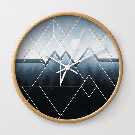 Fading North Wall Clock