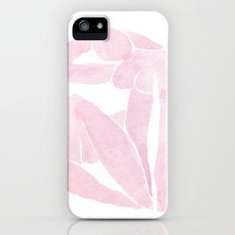 Blue Nude by Henri Matisse in Pink iPhone Case