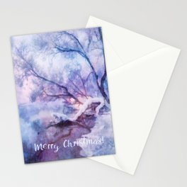 Winter fairy tale Stationery Cards