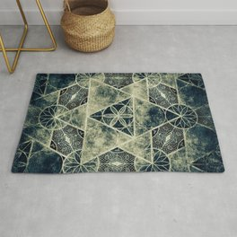 Sacred Geometry for your daily life -  Platonic Solids - IGNIS Rug