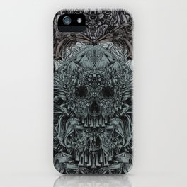 Skull Peaces iPhone Case