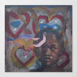 Swazi Art 8 Canvas Print