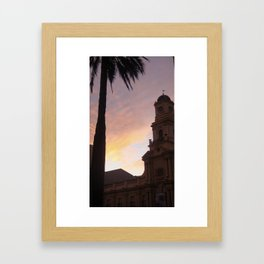 Plaza de Armas, Santiago, Chile Framed Art Print