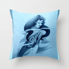 Hinauri's Fish Throw Pillow